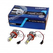 LUMRO BMW H8 40W CREE LED Angel Eyes Bulbs