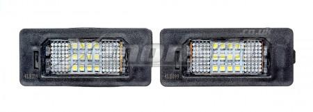BMW F32 F33 E71 F16 X6 18 LED License Plate Lights