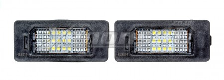 BMW E70 F15 X5 E84 X1 F25 X3 18 LED License Plate Lights