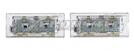 BMW E53 X5 E83 X3 18 LED LIcense Plate Lights