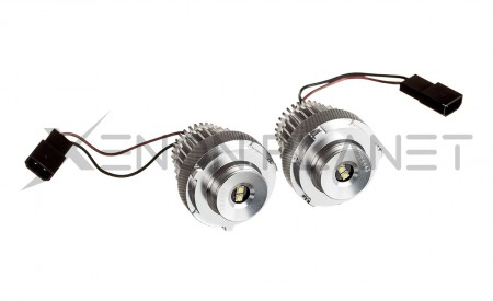 BMW E60 E61 Facelift 20W CREE LED Angel Eyes Bulbs