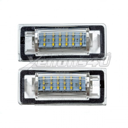 Audi TT 8N 18 LED License Plate Lights