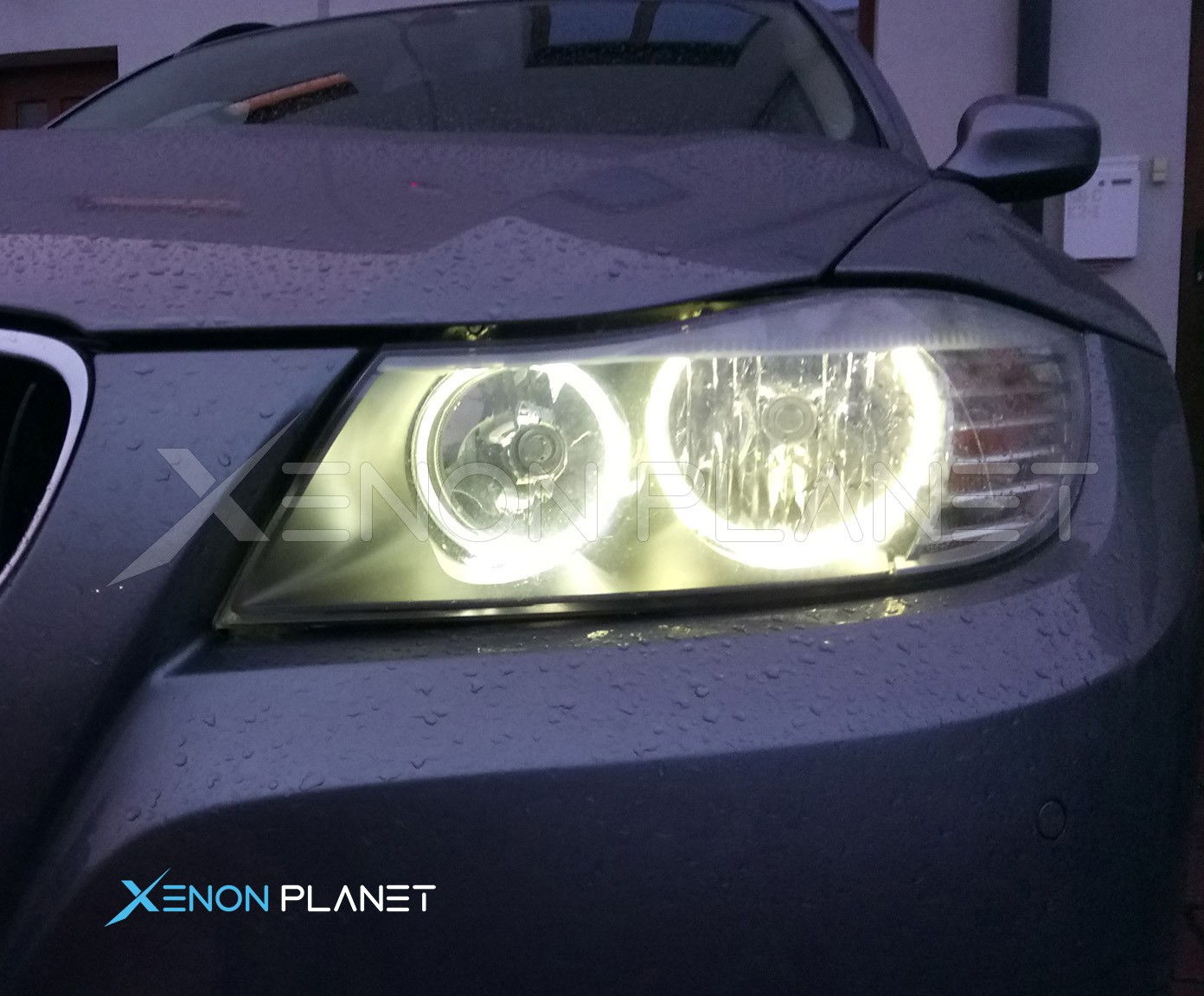 Image result for LUMRO BMW 3 Series E90 E91 Facelift 63117161444 20W CREE LED Angel Eyes Bulbs