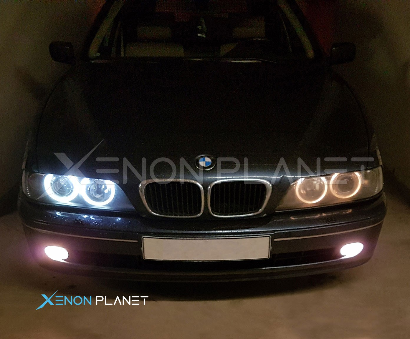 Bmw 5 series angel eyes-9463