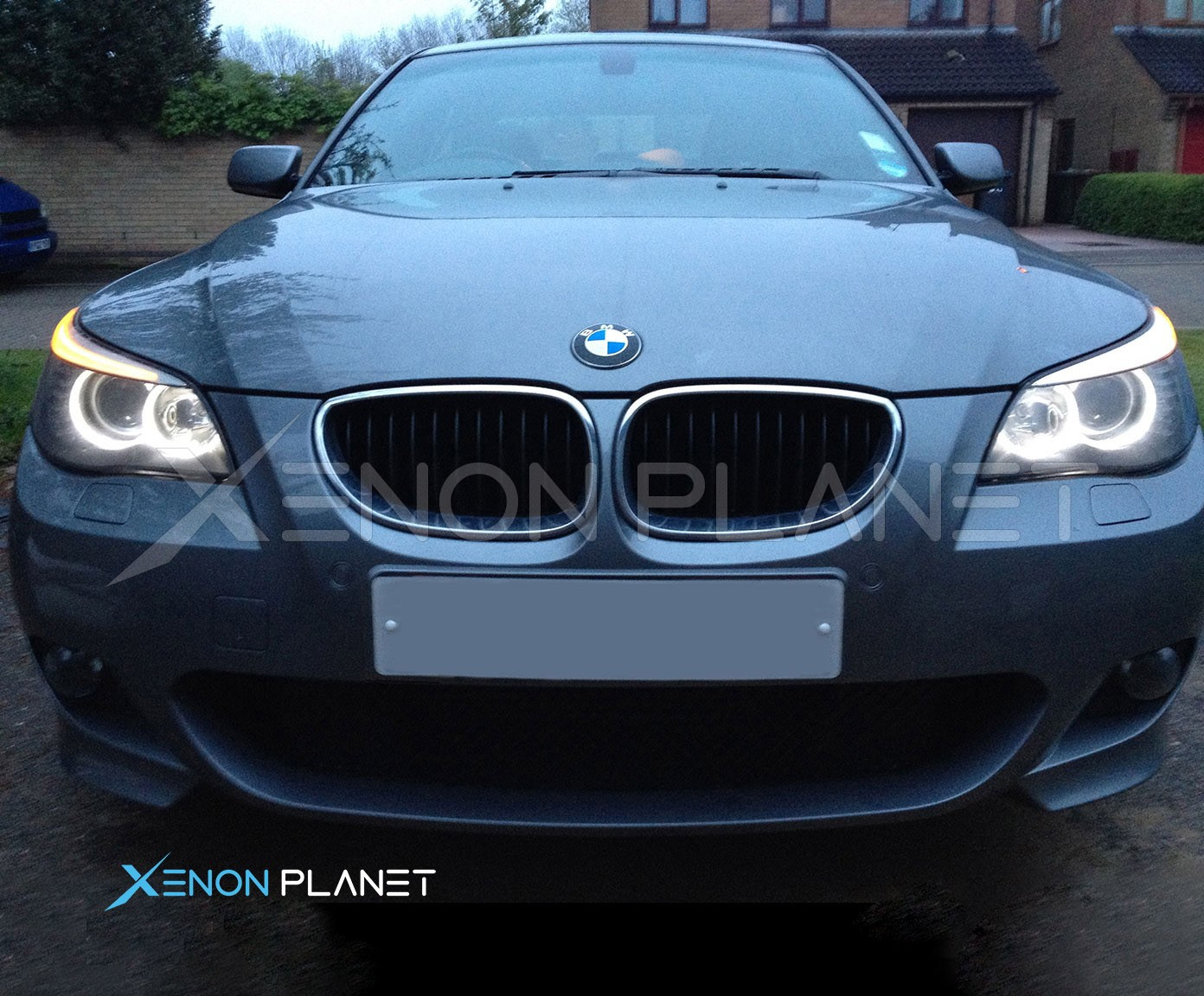 Lumro Bmw E60 E61 Lci Facelift 20w Cree Led Angel Eyes