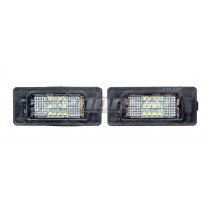 BMW E60 E61 F10 F11 F07 GT 18 LED License Plate Lights