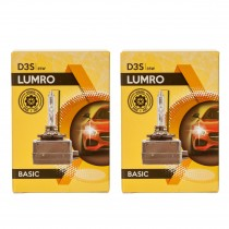 LUMRO D3S Xenon HID Replacement Bulbs 6000K